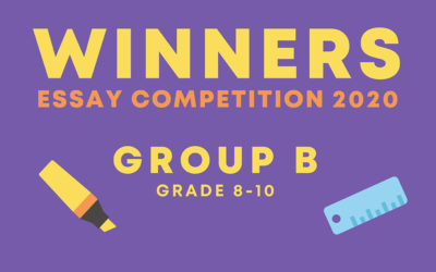 Meet our essay competition winners   Grade 8-10