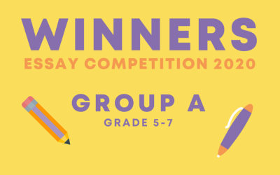 Meet our essay competition winners   Grade 5-7
