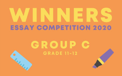 Meet our essay competition winners   Grade 11-12