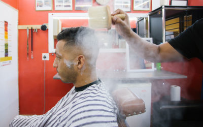 Come for a haircut, leave with tranquillity